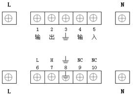 JTL-A-AF/63故障电弧探测器端子接口